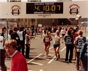 London Marathon 1984 Pauli