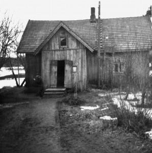 Iso vanhempien talo, jonne oli aina kiva mennä.
